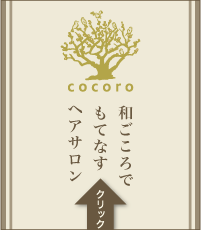 立川の美容院cocoroのホームページ