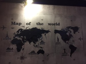 シンガポールホーカーズ世界地図